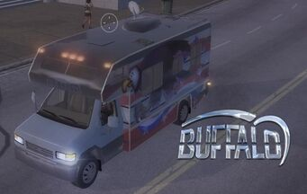 Buffalo with logo in Saints Row 2