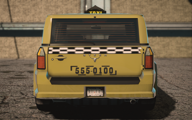 File:Saints Row IV variants - Kayak Taxi Average - rear.png