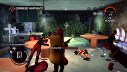 Sommerset Apartments - Destroy the Mobile Drug Lab objective and checkpoint