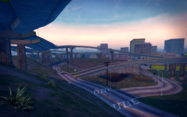 File:The Mills in Saints Row 2 - overpasses.jpg