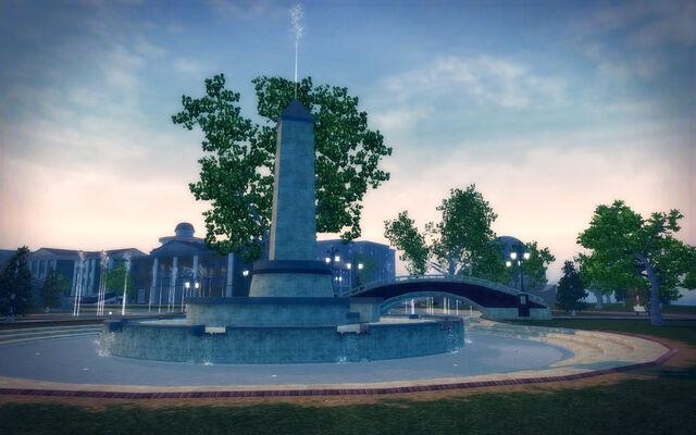 File:Stilwater University - sculpture park fountain.jpg