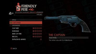 Weapon - Pistols - Heavy Pistol - Upgrades