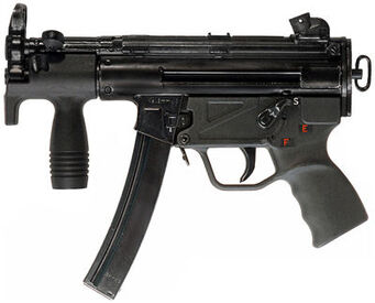 SKR-9 Threat - real MP5K
