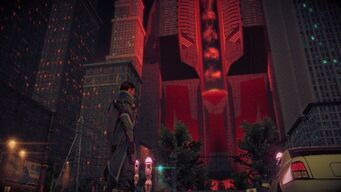 Syndicate Tower under Zin control in Saints Row IV