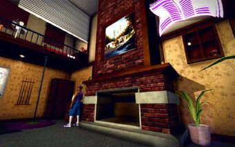 University Loft - Classy - fireplace