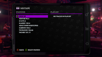 Mixtape Playlist in Saints Row The Third