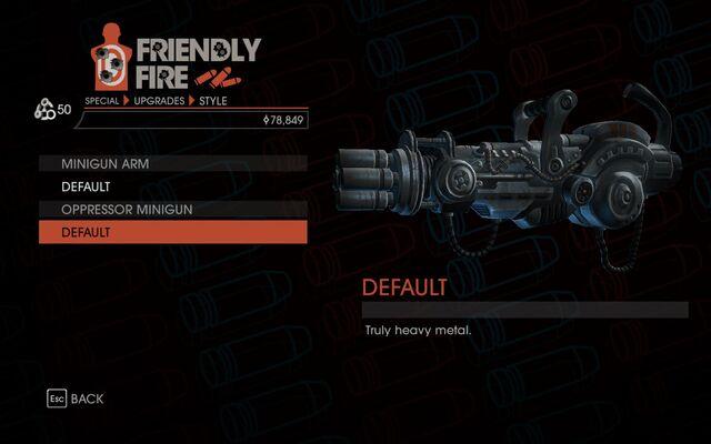 File:Weapon - Special - Lasergun Arm - Oppressor Minigun - Default.jpg