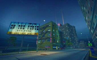 Adept Way in Saints Row 2 - On The Fence billboard