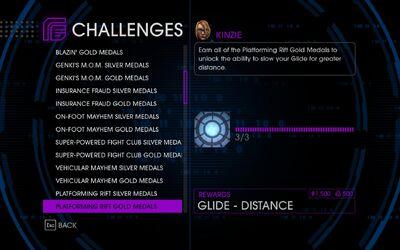 Challenge 23 Platforming Rift Gold Medals