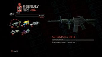 Weapon - Rifles - Automatic Rifle - Main