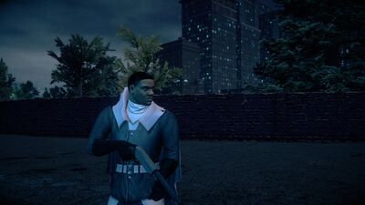 Keith David with Super Powers in Saints Row IV