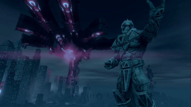 File:Saints Row IV Main Menu background - Zinyak statue.png