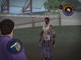 Zombie Carlos as a homie