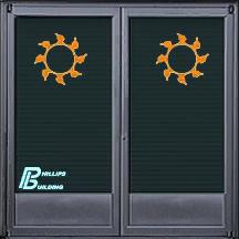 Phillips Building - door texture