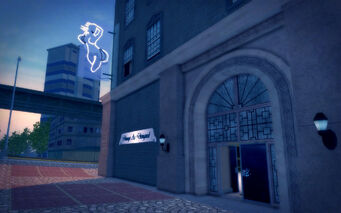 Union Square in Saints Row 2 - Image As Designed exterior