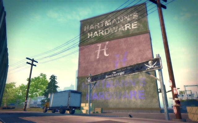 File:Fox Drive in Saints Row 2 - Hartmann's Hardware and The BoneYarrrgh.jpg