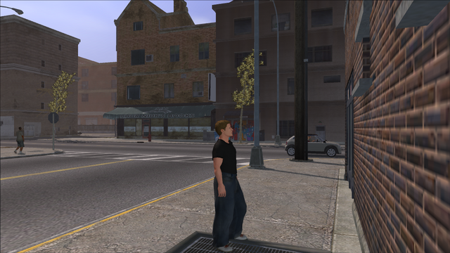 File:The Streets of Stilwater - view of Chuk Niuk's Books graffiti out of cutscene.png