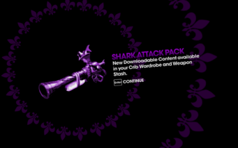 DLC unlock SRTT - Shark Attack Pack