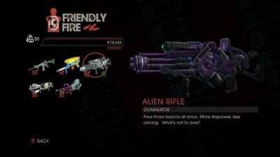 Weapon - Rifles - Alien Rifle - Main
