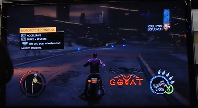 Goat motorcycle GOOH