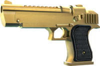 SRIV Pistols - Heavy Pistol - .45 Fletcher - Gold-Plated