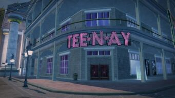Tee'N'Ay - front door in Saints Row 2