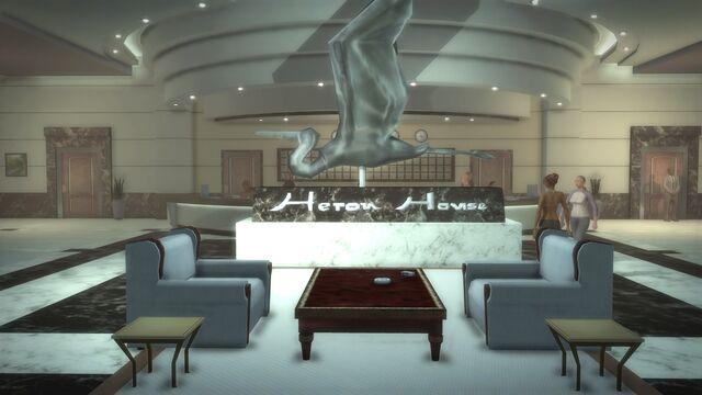 File:Heron Hotel - interior lobby sculpture.jpg