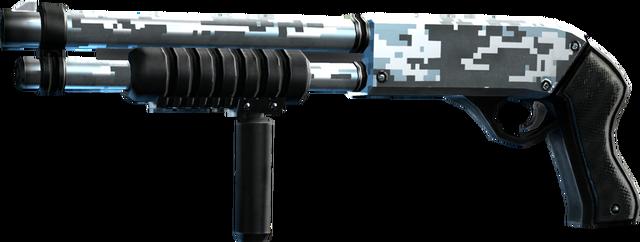 File:SRIV Shotguns - Pump-Action Shotgun - Deacon 12-Gauge - Digital Camo.png