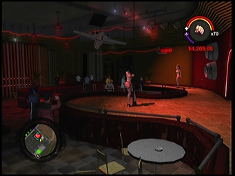Turbulence interior in Saints Row