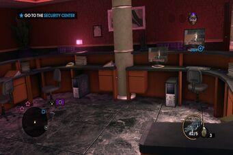 Safeword - guard station desks