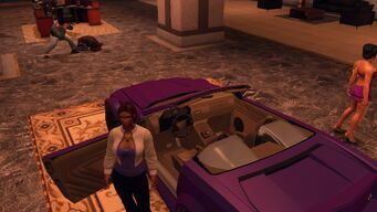 Sovereign - rear left top view of interior in Saints Row The Third