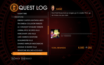 Gat out of Hell Challenge - Diamong Sting Wage Drops