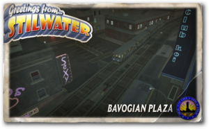 Postcard hood bavogian plaza