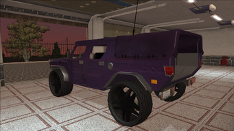Saints Row variants - Bulldog - Gang 3SS lvl4 - rear left