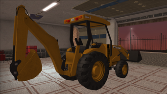 Saints Row variants - Backhoe - rear right