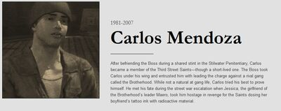 Carlos obituary with dates