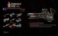 Flamethrower in Saints Row IV