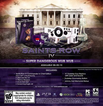 Saints Row IV - super dangerous wub wub edition WUB WUB EDITION