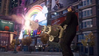 Mini-Gun - Saints Row The Third promo