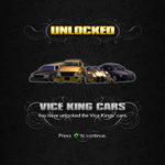 Saints Row unlockable - Vehicles - Vice King Cars - Status Quo, Mag, Rattler, Zomkah