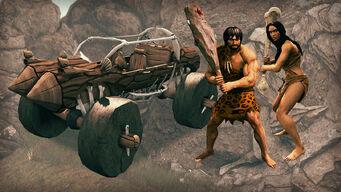 Stone Age Pack - Stoned, Caveman Club, Giant Bone promo