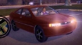 Cosmos with headlights - front right in Saints Row 2