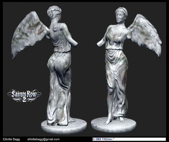 Model Statue Saint