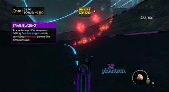 Trail Blazing - Cyber Blazing introduction in Saints Row The Third