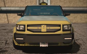 Saints Row IV variants - Kayak Taxi BW - front