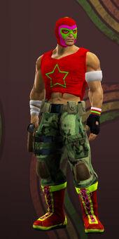 Steelport gangs pack luchadore soldier