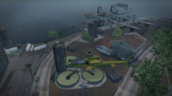 Fox Drive - overhead view of Claflin Coal Company