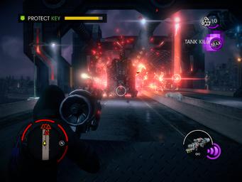 Grand Finale - Protect Key objective - Tank Kill