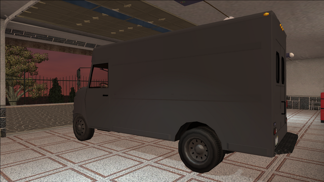 File:Saints Row variants - Delivery Truck - Unmarked - rear left.png