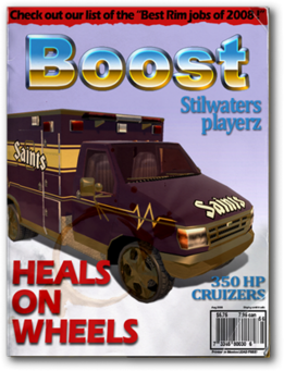 Boost-unlock ambulance